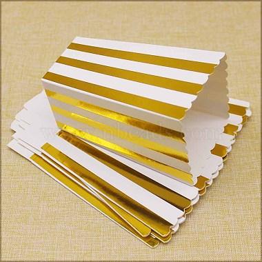 Stripe Pattern Paper Popcorn Boxes(X-CON-L019-A-01A)-3
