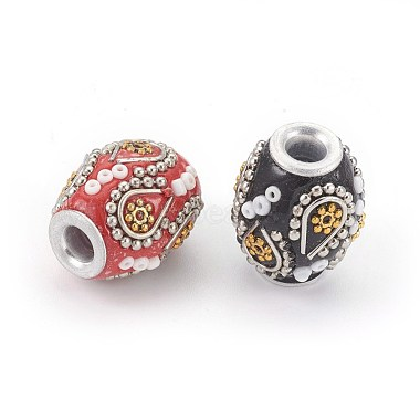 Perles Indonésiennes manuelles(IPDL-E012-19)-2