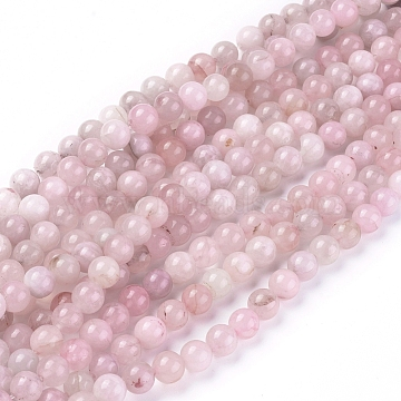 Natural Rose Quartz Beads Strands, Round, 8mm, Hole: 0.8~1mm; about 46pcs/Strand, 14.96 inches(38cm)(X-G-F591-04C-8mm)