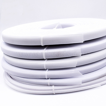 Polyester & Plastic Boning Sewing Wedding Dress Fabric, DIY Sewing Supplies Accessories, White, 10mm, about 50yards/roll(45.72m/roll)(OCOR-WH0052-26C)