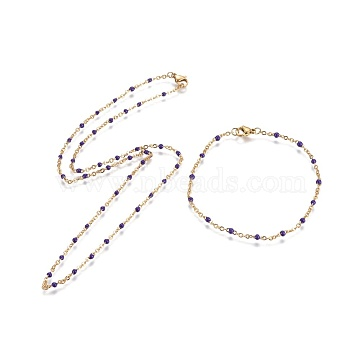 Indigo Stainless Steel Bracelets & Necklaces