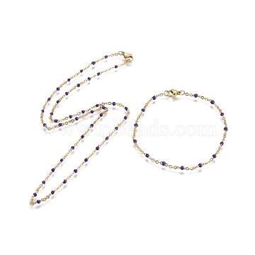 Indigo Stainless Steel Bracelets & Necklaces