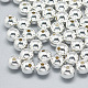 925 Sterling Silver Beads(STER-T002-235S-4mm)-1