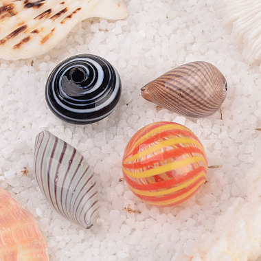 Handmade Blown Glass Beads(BLOW-X002)-3