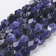 Natural Sodalite Beads Strands(G-J376-65A-10mm)-1