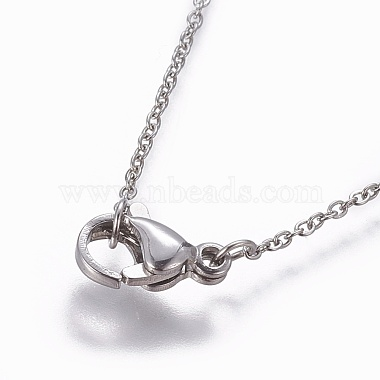 304 Stainless Steel Cable Chain Necklaces(X-NJEW-P248-01P)-3