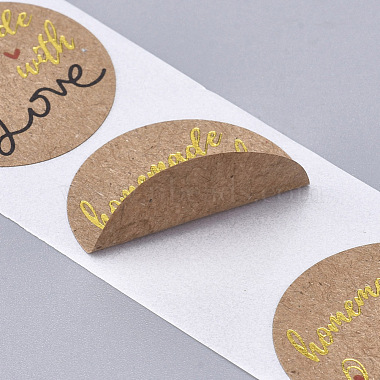 Homemade with Love Stickers(X-DIY-J002-F07)-4