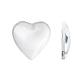 Transparent Glass Heart Cabochons(X-GGLA-R021-20mm)-1