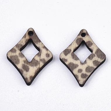 Printed Wood Pendants(X-WOOD-S667-017D)-3