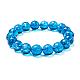 SUNNYCLUE Natural Crackle Quartz Round Beads Stretch Bracelets(BJEW-PH0001-10mm-15)-1