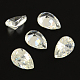 Drop Shaped Cubic Zirconia Pointed Back Cabochons(ZIRC-R011-10x8-02)-1