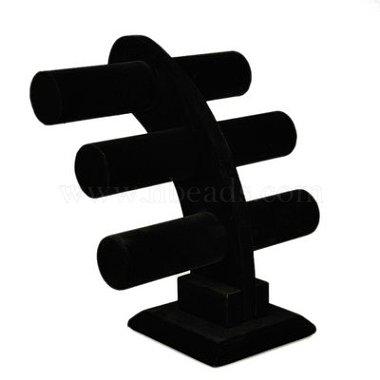 Стойка дисплея браслета t-bar баржа 3 яруса(BDIS-E005-1A)-1