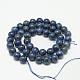 Dyed Natural Grade AB Lapis Lazuli Round Bead Strands(X-G-M290-8mm-AB)-2