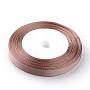 BurlyWood Polyester Ribbon(SRIB-Q009-20mm-117)