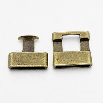 Antique Bronze Alloy Clasps