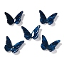 Prussian Blue Butterfly Resin Cabochons(RESI-I035-01G)