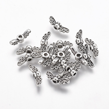 14mm Wing Alloy Beads