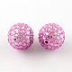 Transparent Resin Rhinestone Graduated Beads(X-RESI-S314-18x20-M)-2