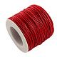 Waxed Cotton Thread Cords(YC-R003-1.0mm-162)-1