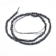 Natural Obsidian Beads Strands(G-D0003-A27)-2