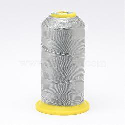 Fil à coudre de nylon, argenterie, 0.6 mm; environ 300 m/rouleau(NWIR-N006-01K-0.6mm)