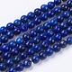 Dyed Natural Lapis Lazuli Bead Strands(X-G-R173-6mm-01)-1