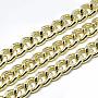 Aluminum Curb Chains Chain(X-CHA-T001-25G)