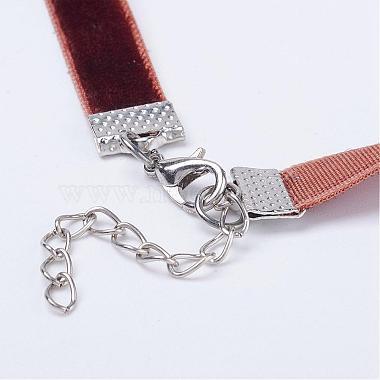Cloth Gothic Choker Necklaces(NJEW-E085-30I)-3
