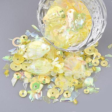 Yellow Plastic Beads