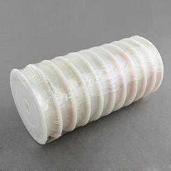 Fil cristal, fil élastique, pour la fabrication de bijoux, clair, 1.0 mm; environ 5 m/rouleau, 10 rouleaux / groupe(CT-R001-1.0mm-01)