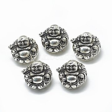 Antique Silver Human Thai Sterling Silver Beads