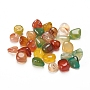6mm Mixed Color Nuggets Natural Agate Beads(G-WH0006-04A)