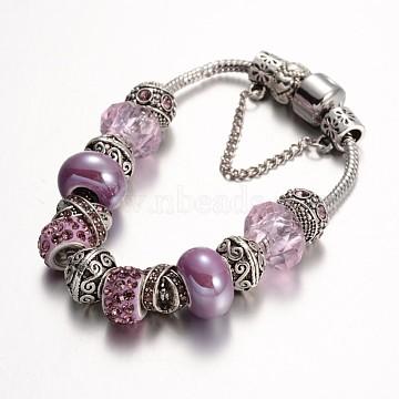 Lilac Alloy Bracelets