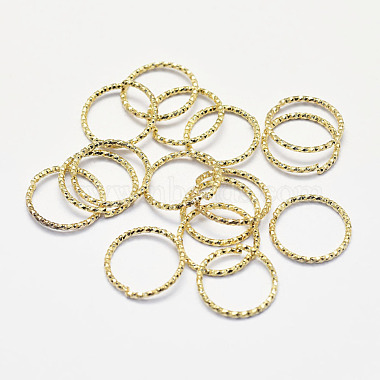 Real Gold Plated Ring Brass Open Jump Rings