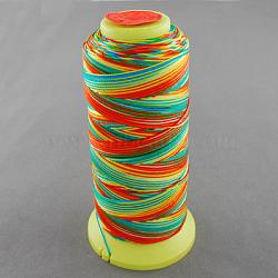 Fil à coudre de nylon, colorées, 0.6mm, environ 500 m / bibone (NWIR-Q005A-43)