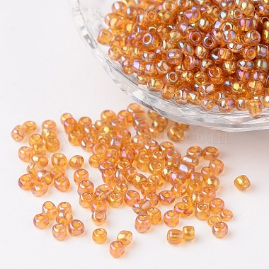 3mm DarkGoldenrod Glass Beads