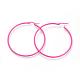 Spray Painted 304 Stainless Steel Hoop Earrings(EJEW-G258-05G)-2