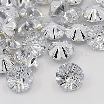20L(12.5mm) Diamond Acrylic Rhinestone 1-Hole Button
