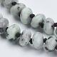 Natural Sesame Jasper/Kiwi Jasper Beaded Multi-use Necklaces/Wrap Bracelets(NJEW-K095-B02)-3