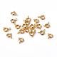 Золотые компоненты тон ювелирные изделия латунь кольцо весной пряжки(X-EC095-G)-1