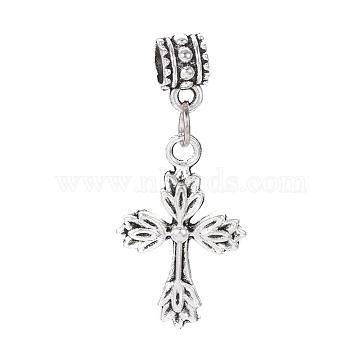 39mm Cross Alloy Dangle Beads