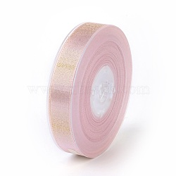 "Rubans satin polyester avec double face, peachpuff, 5/8"" (16 mm); environ 100yards / rouleau (91.44m / rouleau)(SRIB-P012-B12-16mm)"