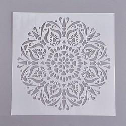 Dessiner des gabarits de peinture, blanc, 15x15x0.02 cm(DIY-WH0059-05F)