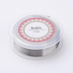 стальной проволоки, серебристый цвет, 0.15 мм; 500 м / рулон(TWIR-E001-0.15mm)