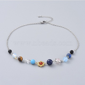 Mixed Stone Necklaces
