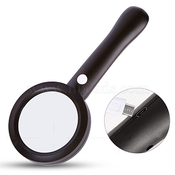 Black Plastic Magnifier