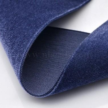 Polyester Velvet Ribbon for Gift Packing and Festival Decoration(SRIB-M001-50mm-370)-2