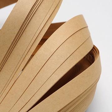 Quilling Paper Strips, Tan, 530x10mm; about 120strips/bag(DIY-J001-10mm-B21)