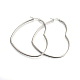 201 Stainless Steel Hoop Earrings(X-EJEW-A052-11B)-1