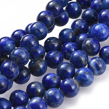 6mm Round Lapis Lazuli Beads